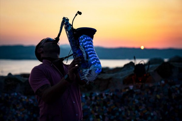 LED Saxophone