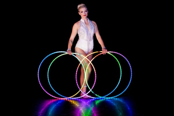 Bright Lights LED Hula Hoop