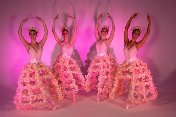 Floral Blossom Ballerinas