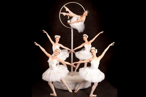 Freestanding Aerial Ballet