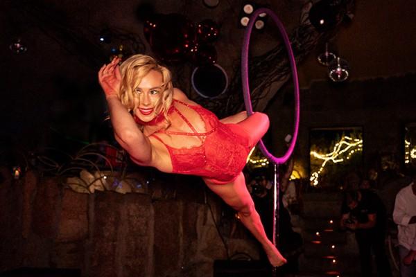 Lust Freestanding Aerial Hoop