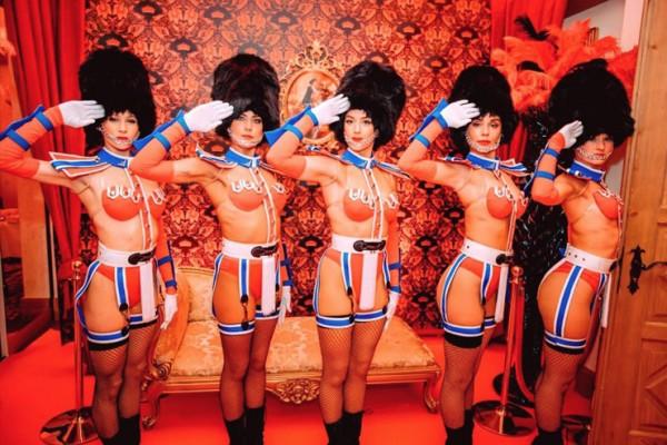 Cabaret Soldiers