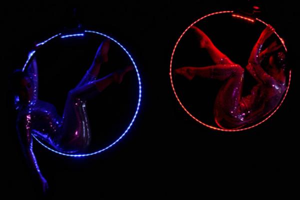 LED Aerial Hoop
