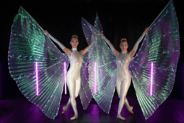 LED Winged Ballerinas