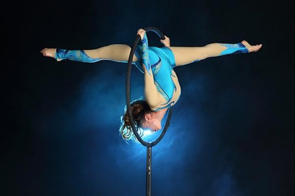 Circus Freestanding Aerial Hoop