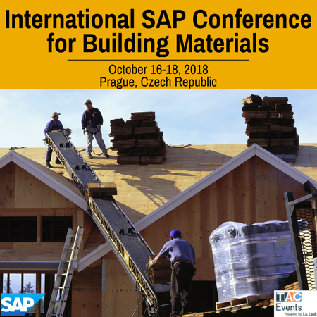 International SAP Conference for Building Materials, Prague, 2018