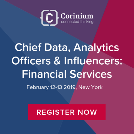 Chief Data Analytics Officers & Influencers: Financial Services (CDAOI) 2019 arrives in New York, February 12-13 for two days of networking and top level discussion.
