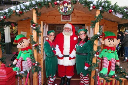 St Tydfil Shopping Centre's Santa's Grotto is opening every Friday and Saturday until 22nd December.
