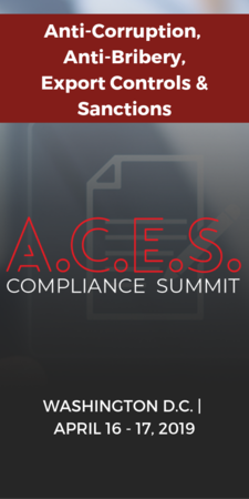 The International Trade Compliance Expertise You Need Now - Dive into anti-bribery/corruption, export controls & sanctions at the 3-in-1 event that will help you ensure an airtight compliance program.