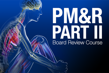 The Board Review is designed for candidates preparing for the PM&R Part II board exam. Through lecture, case vignettes and optional mock oral examinations, the  course helps guide study and prep.