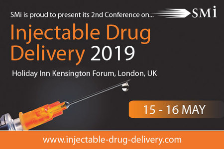 The SMi Group is pleased to announce the second annual Injectable Drug Delivery conference which will be held in London on the 15th and 16th May 2019.