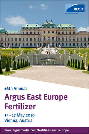 Argus East Europe Fertilizer is the leading networking event for fertilizer producers, traders, buyers and distributors interested in expanding their business in East Europe