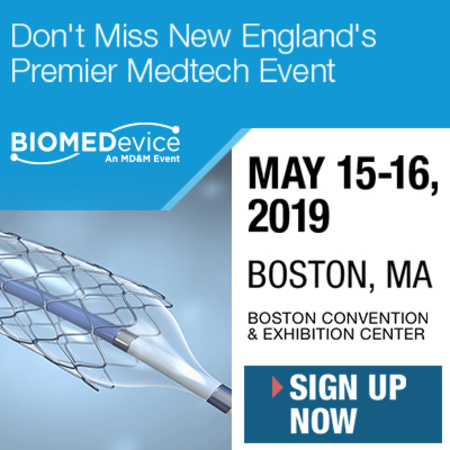 Register today for New England's largest medical technology event, featuring the most extensive showcase of medtech, design engineering, and embedded systems products from top companies.