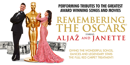 Fresh from their sell-out tour with their highly entertaining and innovative Remembering The Movies, Aljaz and Janette, will be returning with their brand new show Remembering The Oscars.