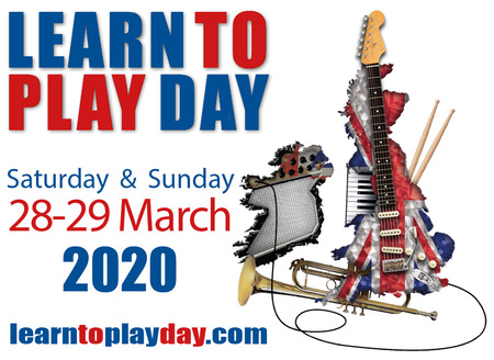 Learn to Play Day - a free national event to encourage everyone in the UK to start making music - is coming to Sussex this March.