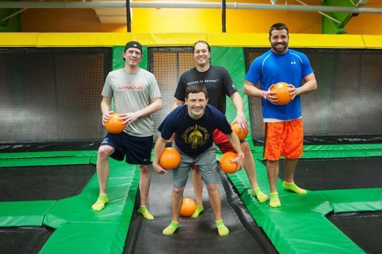 BufordFundraisers Thank you for your interest in having a Fundraiser at the ROCKIN JUMP Buford indoor trampoline park. FUNDRAISERS ARE AVAILABLE MONDAY, TUESDAY & THURSDAY FROM 4PM-8PM.