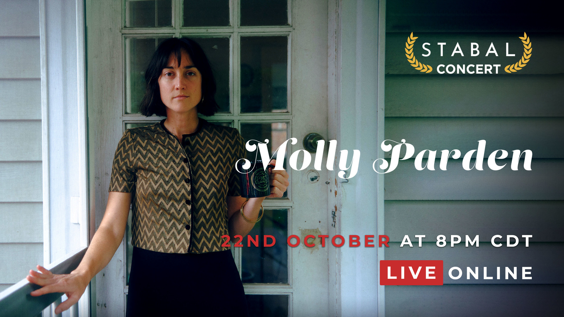 ★ Molly Parden: Live Online Stabal Nashville ★ October 22nd 2020 // 8.00PM CDT