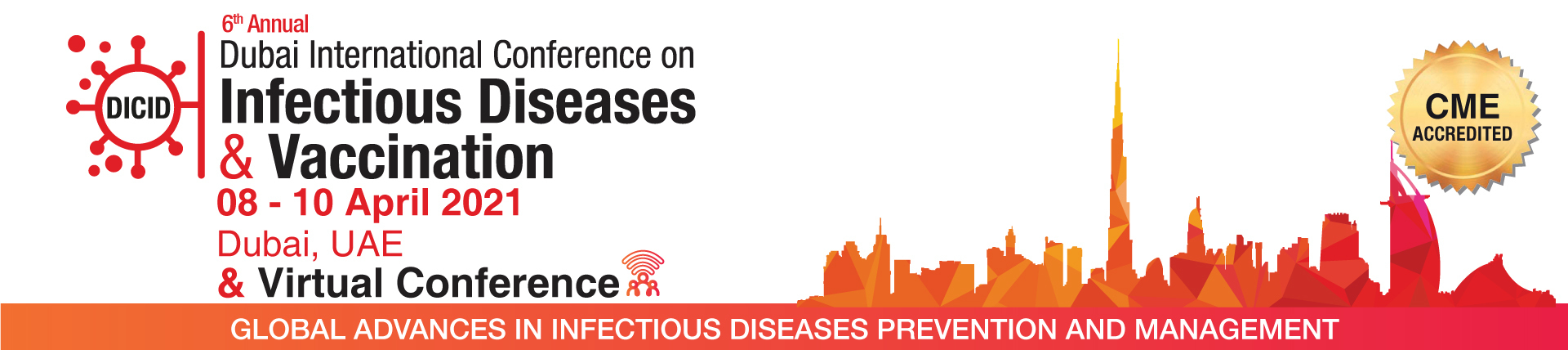 DICID is one of the main infectious diseases and vaccination platforms bringing regional and international experts to discuss latest recommendations and guidelines in the field of infectious diseases.