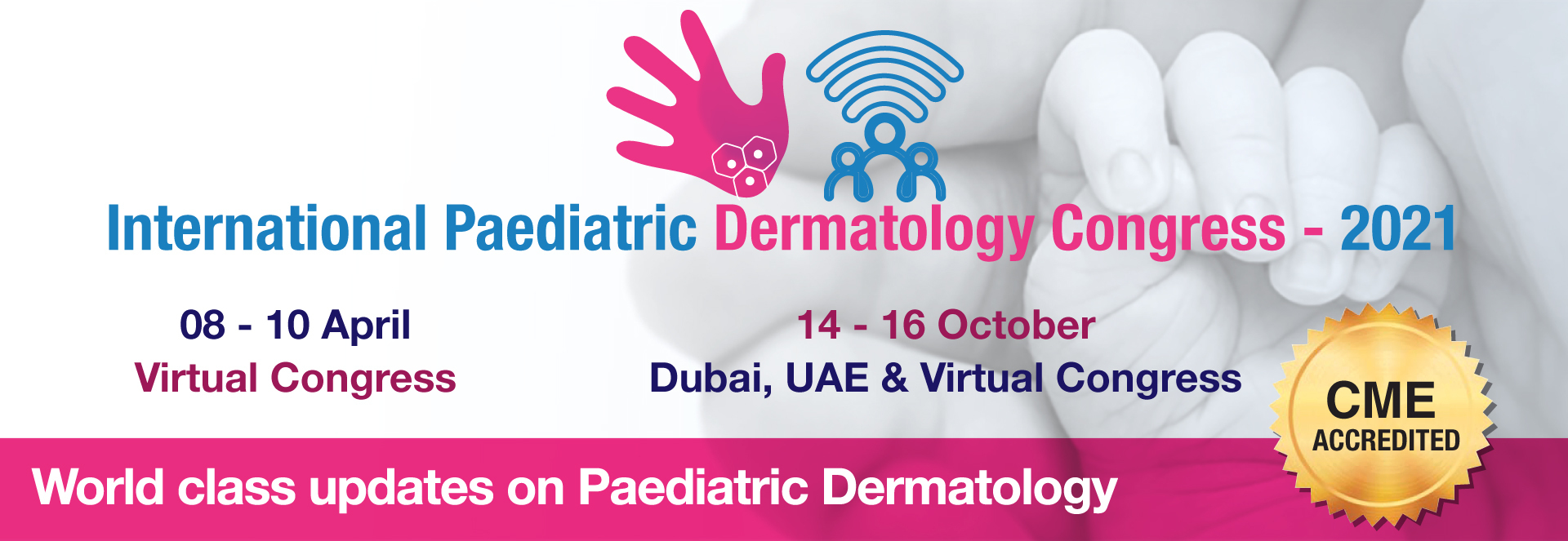 The Congress provides 3 days of robust discussions on the most effective strategies related to diagnosis, prevention & management of common paedia dermatological conditions, & more.