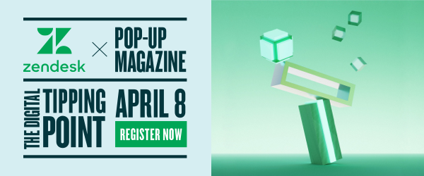 Zendesk & Pop-Up Magazine partner to bring writers, producers, and film makers together to create a performance that explores CX technology through humanity, humor, and out-of-the-box thinking.