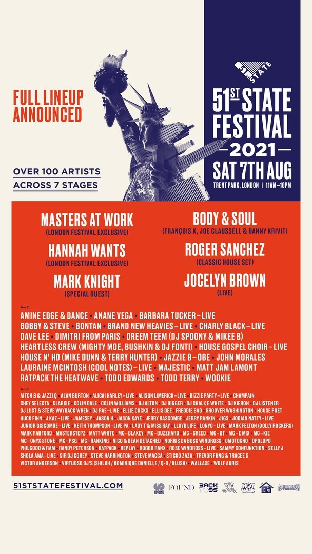 51st State Festival in London August 2021