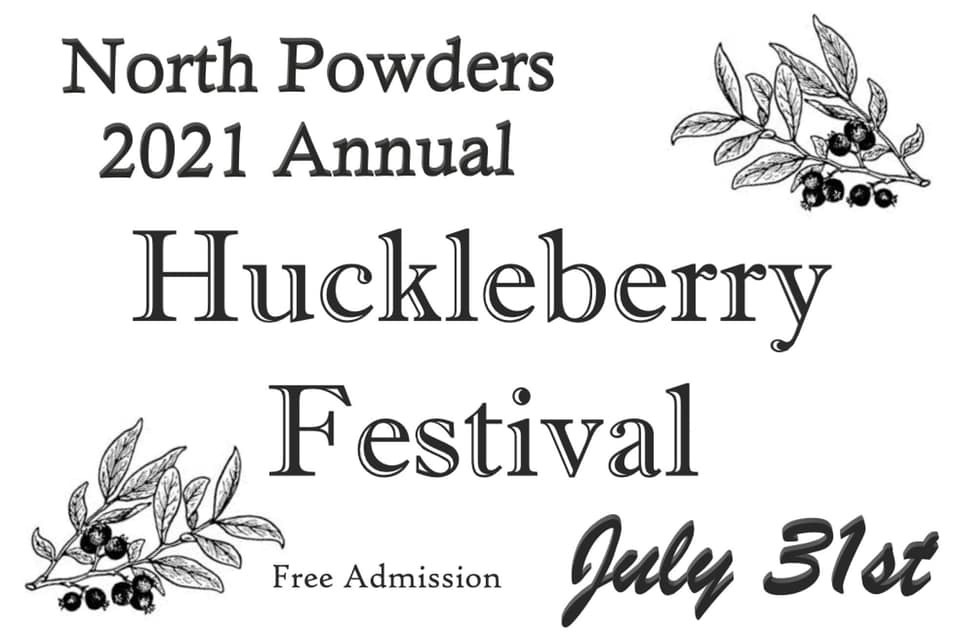 North Powder 2021 Huckleberry Festival