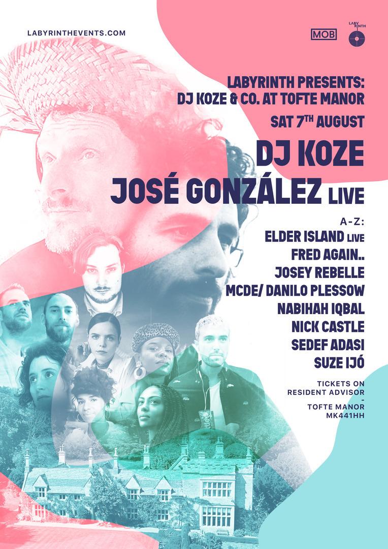 Labyrinth Presents DJ Koze & Co at Tofte Manor
