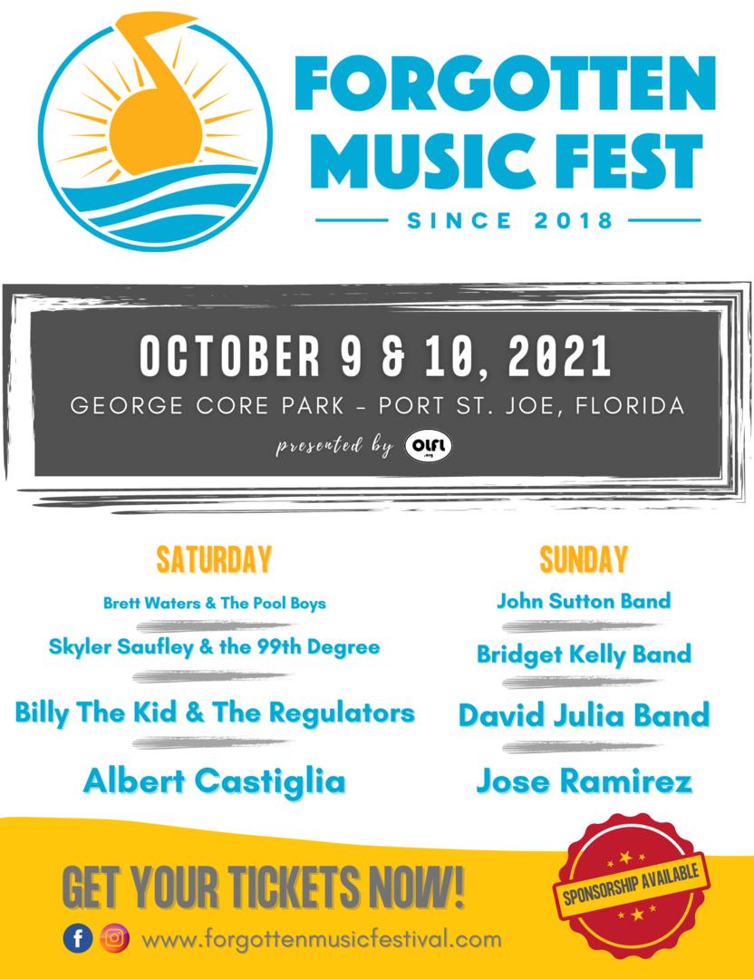 3rd Annual Forgotten Music Festival