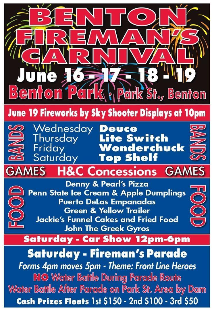Benton Firemen's Carnival