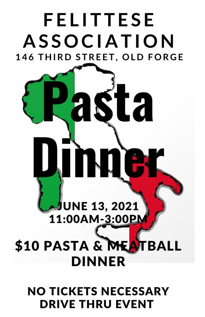 Felittese Association Pasta Dinner
