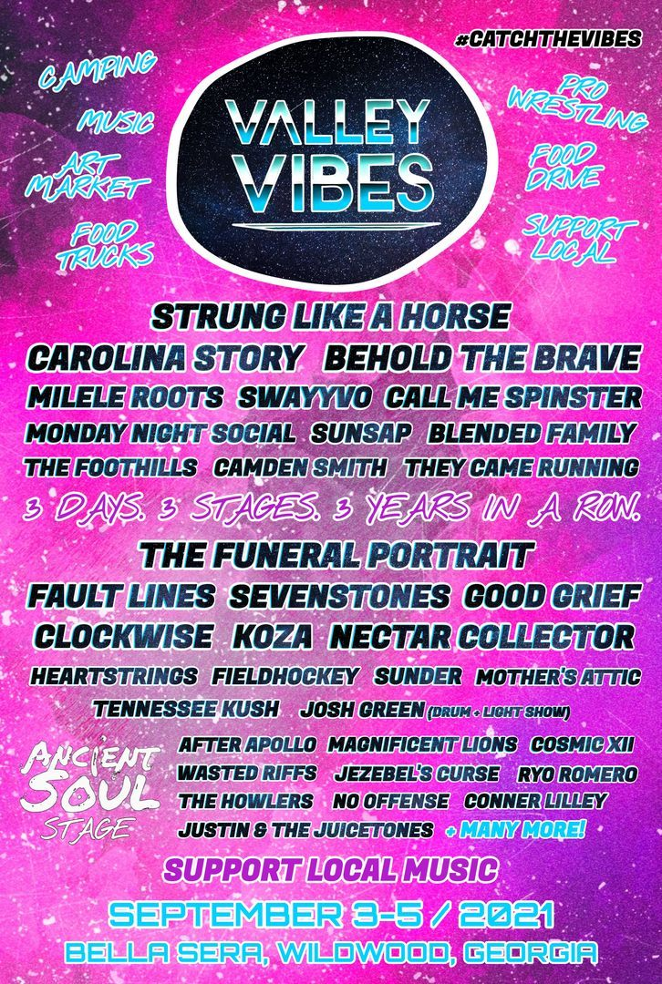 Valley Vibes Music & Arts Festival 2021 - Valley Vibes Music & Arts Festival 2021
