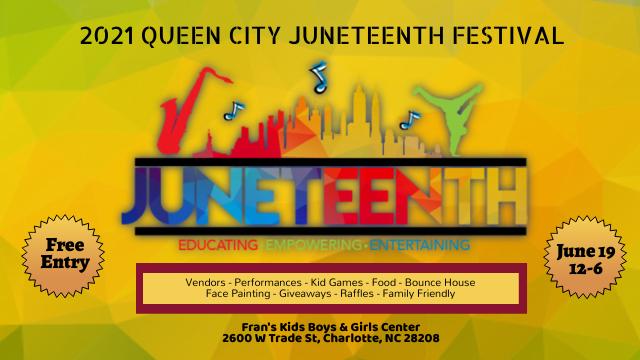 2021 Queen City Juneteenth Festival