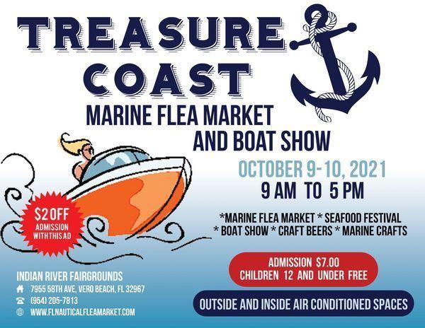 Treasure Coast Marine Flea Market and Boat Show
