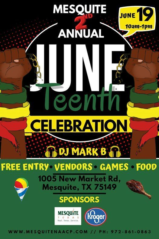 Mesquite 2nd Annual Juneteenth Celebration