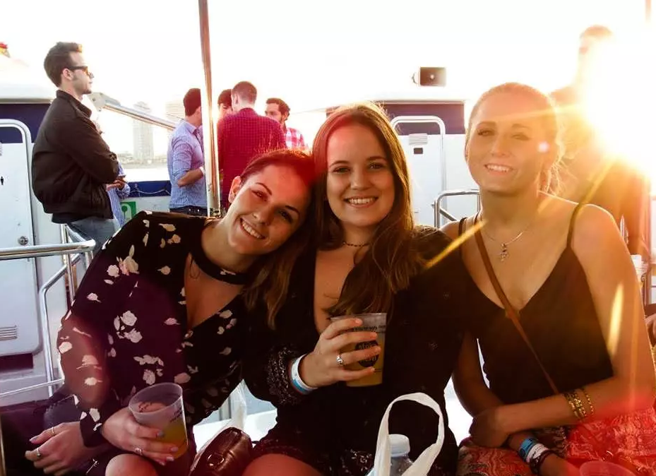Champagne Sunset Boat Party