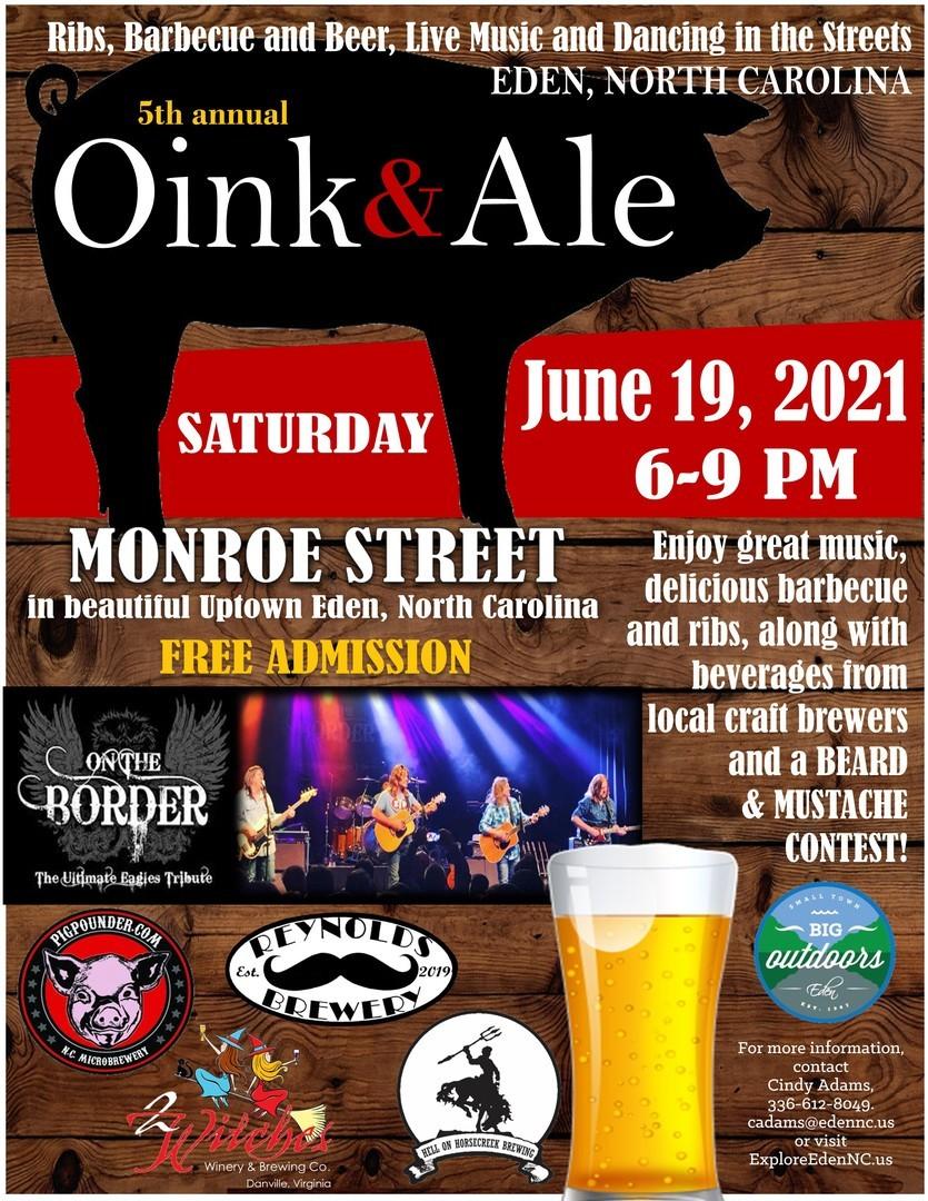 5th Annual Oink \u0026 Ale Festival