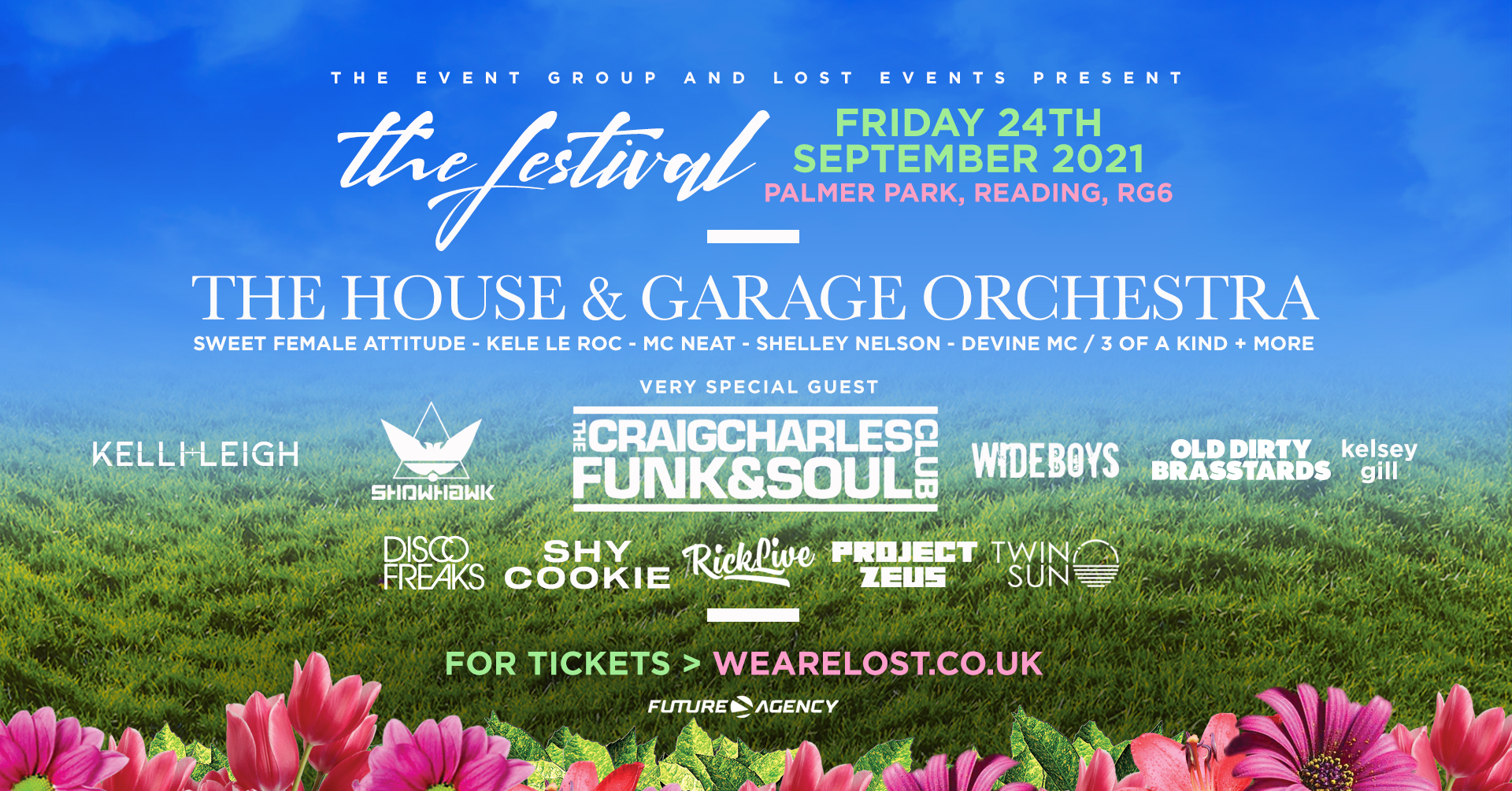 The House & Garage Orchestra :  Arrives in Reading