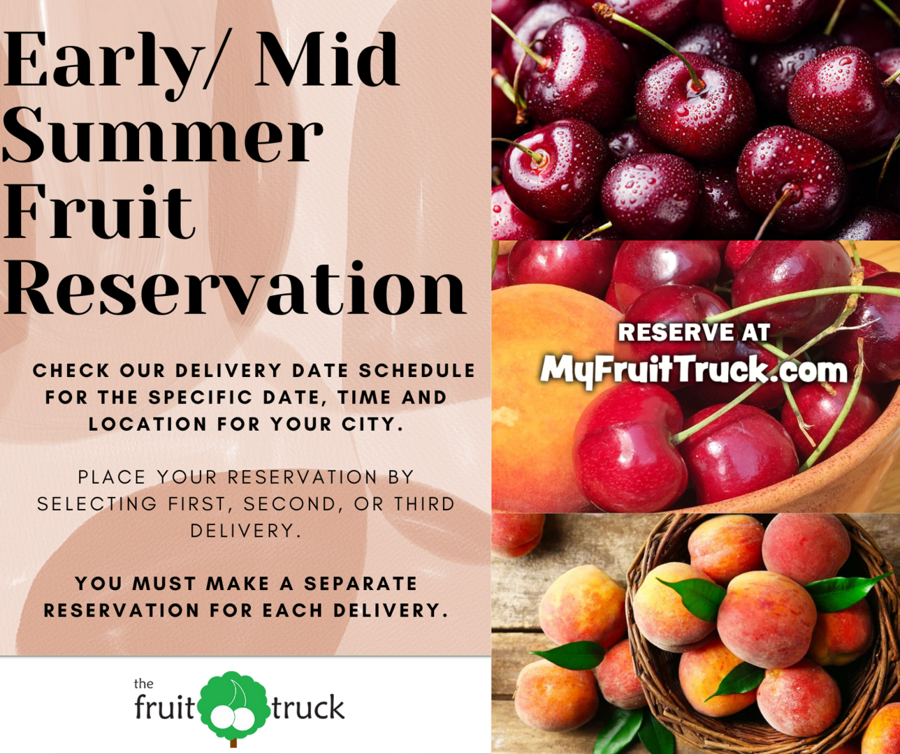 The Fruit Truck Tour Is Coming To Town!