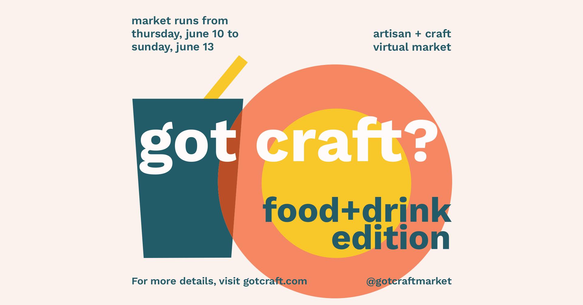 Got Craft? Foodie Virtual Market