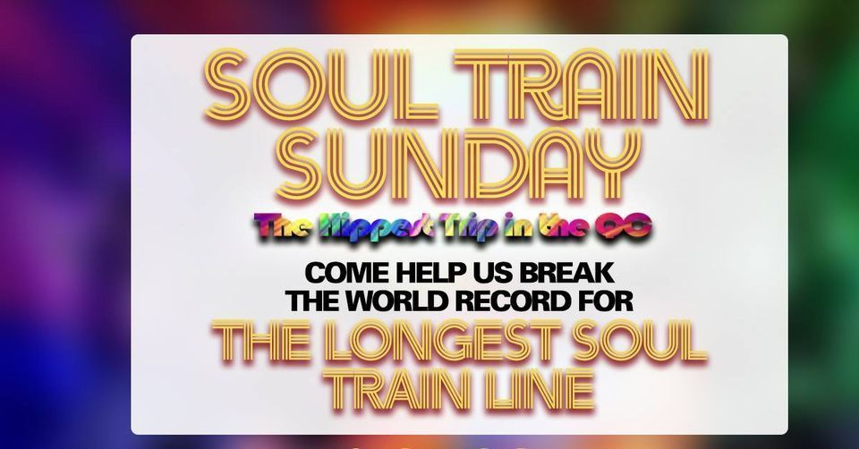 Soul Train Sunday