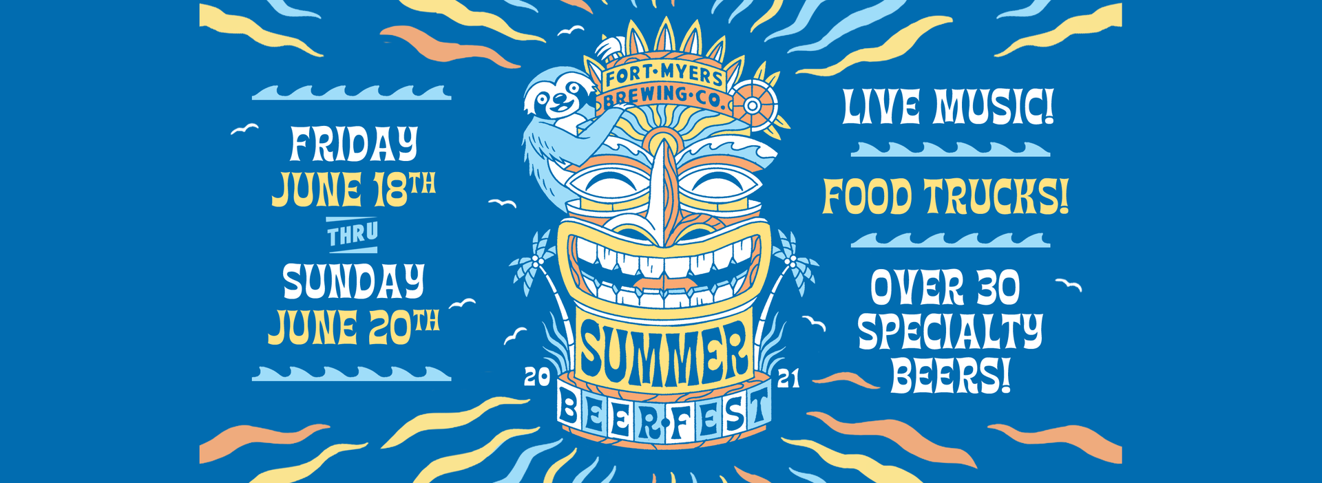 2021 Summer Beer Fest at Fort Myers Brewing