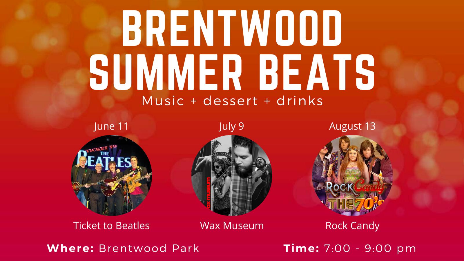 Brentwood Summer Beats
