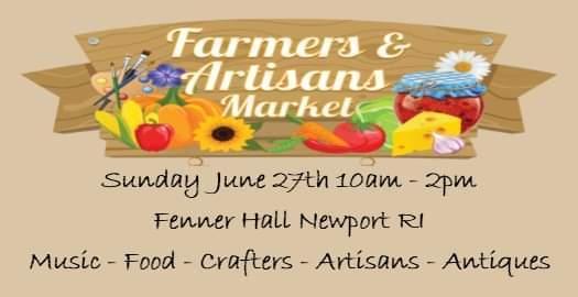 Artisans & Farmers Market w/ Live Music