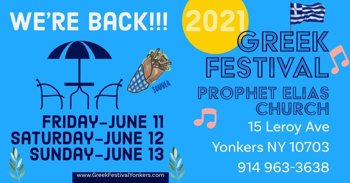 Greek Festival 2021 - Yonkers, NY
