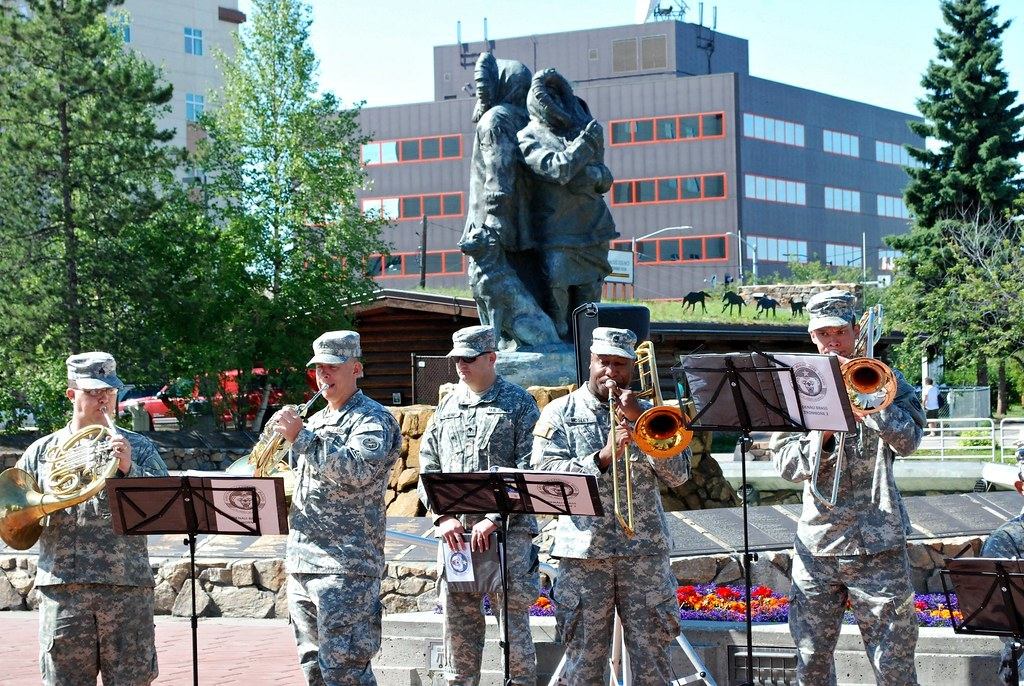 Concerts in the Plaza - 9th Army Jazz Band