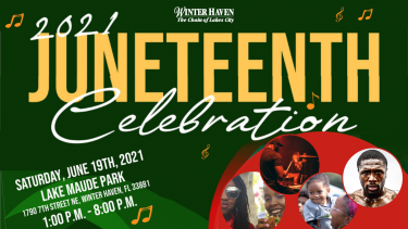 WINTER HAVEN'S INAUGURAL JUNETEENTH CELEBRATION