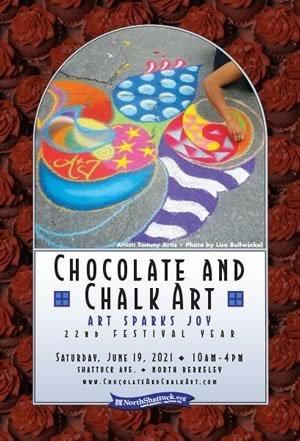 Chocolate \u0026 Chalk Art Festival