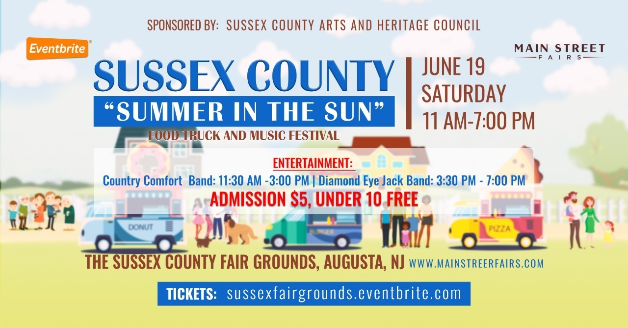 Sussex County 'Summer in the Sun' Food Truck and Music Festival