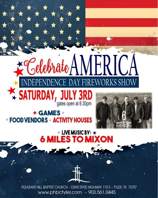 Celebrate America  Fireworks Show