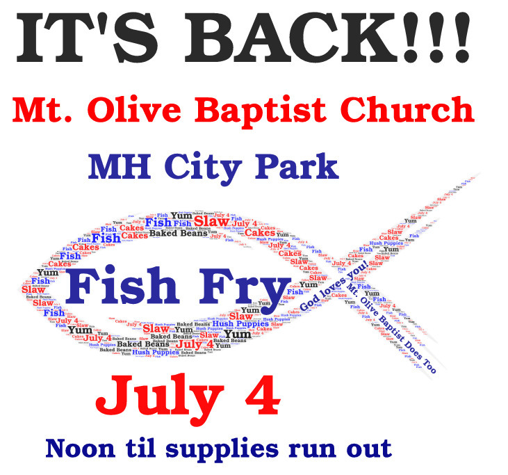Mt. Olive Baptist Church Fish Fry in the Park